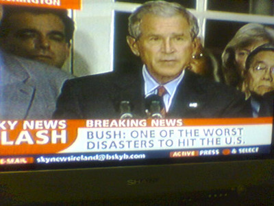 Bush is one of the worst disasters to hit the U.S.
